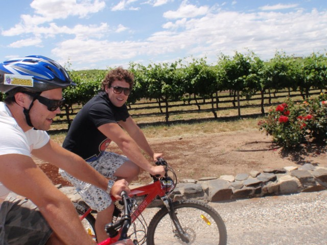 Bike Hire Barossa Valley